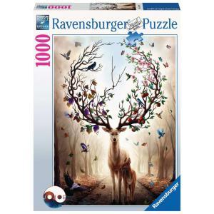 Ravensburger - 15018 - Puzzle 1000 pièces - Cerf fantastique (426510)