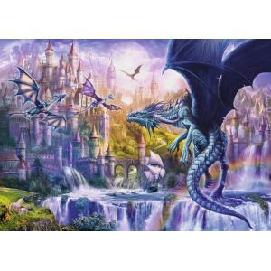 Ravensburger - 15252 - Puzzle 1000 pièces - Le château des dragons (426512)