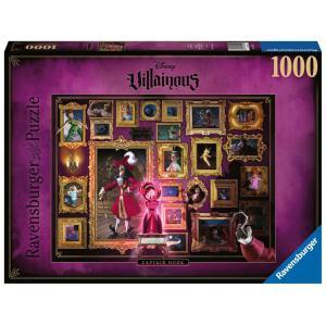 Disney - 15022 - Puzzle 1000 pièces - Capitaine Crochet (Collection Disney Villainous) (426518)