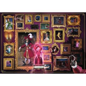 Ravensburger - 15022 - Puzzle 1000 pièces - Capitaine Crochet (Collection Disney Villainous) (426518)