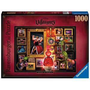 Disney - 15026 - Puzzle 1000 pièces - La Reine de cœur (Collection Disney Villainous) (426526)
