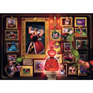 Ravensburger - 15026 - Puzzle 1000 pièces - La Reine de cœur (Collection Disney Villainous) (426526)