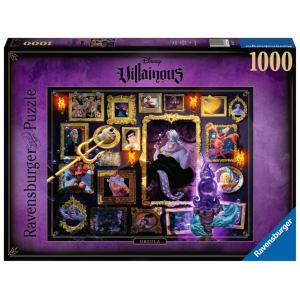 Disney - 15027 - Puzzle 1000 pièces - Ursula (Collection Disney Villainous) (426528)