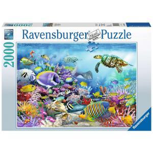 Ravensburger - 16704 - Puzzle 2000 pièces - Récif de corail majestueux (426550)