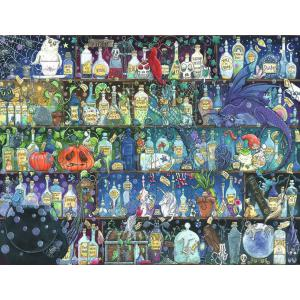 Ravensburger - 16010 - Puzzle 2000 pièces - L'étagère à potions / Zoe Sandler (426552)