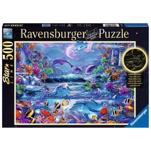 Ravensburger - 15047 - Puzzle 500 pièces Star Line - La magie du clair de lune (426566)