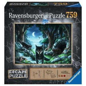 Ravensburger - 16434 - Escape puzzle - Histoires de loups (426568)