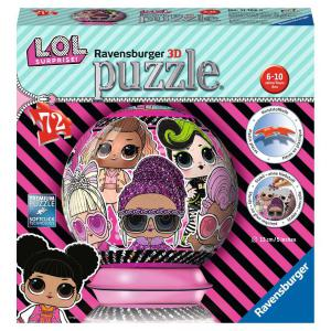 Ravensburger - 11162 - Puzzle 3D Ball 72 pièces - LOL Surprise (426596)