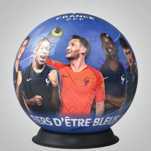 Ravensburger - 11170 - Puzzle 3D Ball 72 pièces - Fédération Française de Football (426598)