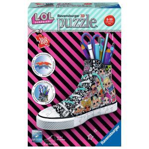 Ravensburger - 11163 - Puzzle 3D Sneaker - LOL Surprise (426608)