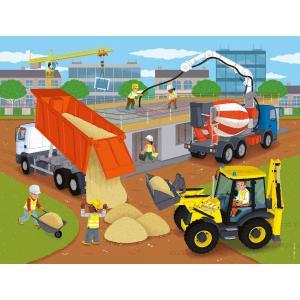 Nathan puzzles - 86378 - Puzzle 30 pièces - Le chantier (426706)