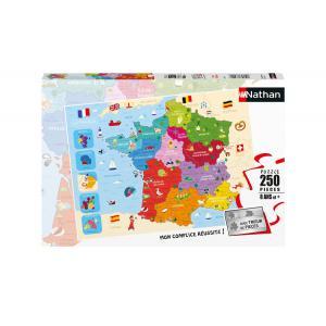 Nathan puzzles - 86875 - Puzzle 250 pièces - Carte de France (426726)