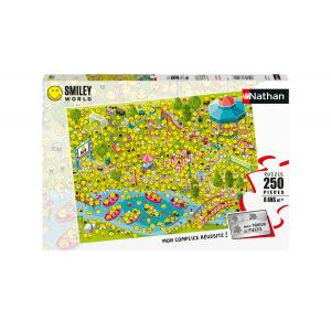 Nathan puzzles - 86877 - Puzzle 250 pièces - Les Smileys sont de sortie (426730)