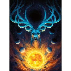 Nathan puzzles - 87243 - Puzzle N 500 pièces - Constellation du cerf (426736)