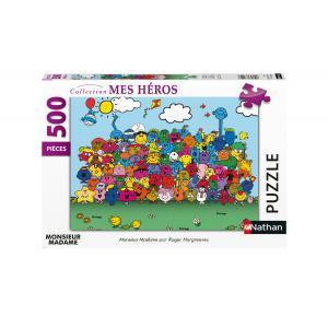 Nathan puzzles - 87237 - Puzzle N 500 pièces - Monsieur Madame (426740)