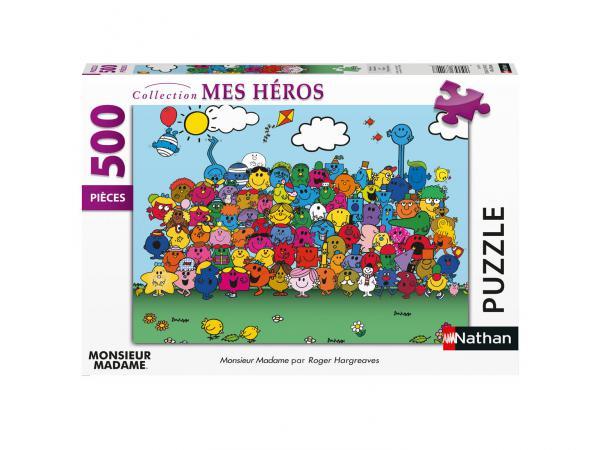Puzzle n 500 pièces - monsieur madame
