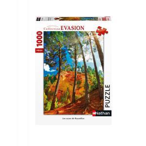 Nathan puzzles - 87639 - Puzzle 1000 pièces - Les ocres de Roussillon (426748)