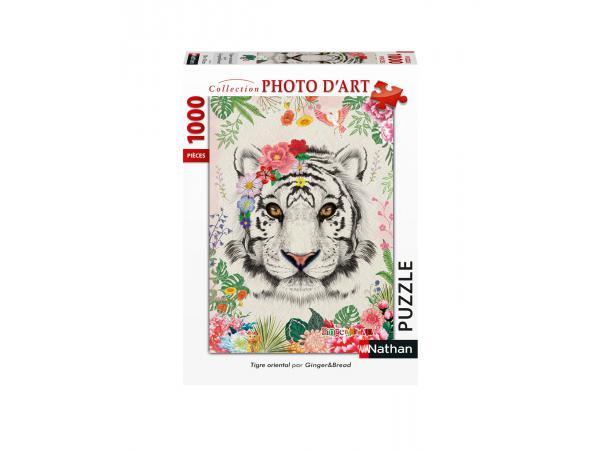 Puzzle n 1000 pièces - tigre oriental