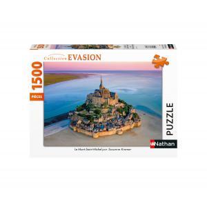 Nathan puzzles - 87805 - Puzzle 1500 pièces - Le Mont-Saint-Michel (426766)
