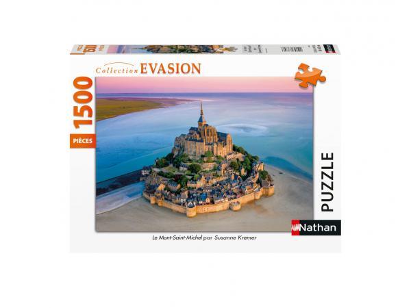 Puzzle n 1500 pièces - le mont-saint-michel