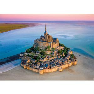 Nathan puzzles - 87805 - Puzzle N 1500 pièces - Le Mont-Saint-Michel (426766)