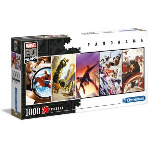 Marvel - 39546 - Puzzle adultes Panorama 1000 Pièces - Marvel 80 (426956)