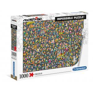Clementoni - 39550 - Puzzle adultes Mordillo 1000 pièces Impossible (426968)