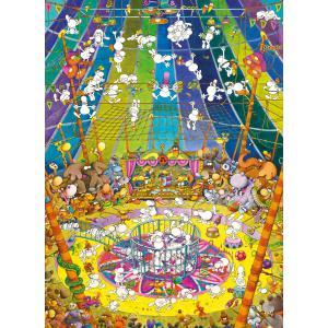Clementoni - 39536 - Puzzle adultes Mordillo 1000 pièces - The Show (427010)