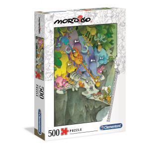 Clementoni - 35080 - Puzzle Mordillo 500 pièces - The Surrender (427014)