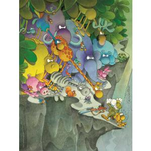 Clementoni - 35080 - Puzzle adultes Mordillo 500 pièces - The Surrender (427014)