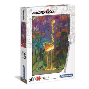 Clementoni - 35079 - Puzzle Mordillo 500 pièces - The Lover (427016)