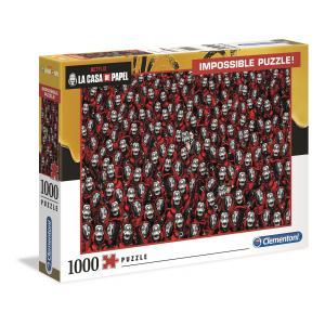 Clementoni - 39527 - Puzzle La Casa de Papel - Impossible 1000 pièces (427022)