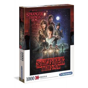Clementoni - 39542 - Puzzle Stranger Things - 1000 pièces (427036)