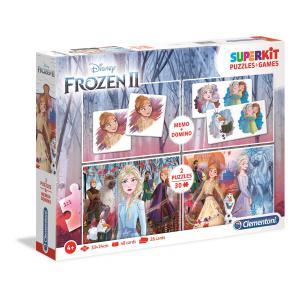 Clementoni - 20241 - Puzzle enfants Superkit - La Reine des Neiges 2 (427048)