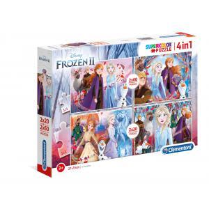 Clementoni - 21307 - Puzzle 2x20+2x60 pièces - La Reine des Neiges 2 (427056)