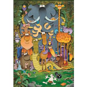 Clementoni - 29204 - Puzzle enfants 180 Pièces - Mordillo - The Picture (427082)