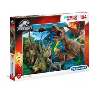 Clementoni - 27196 - Puzzle enfants 104 Pièces - Jurassic World (427124)