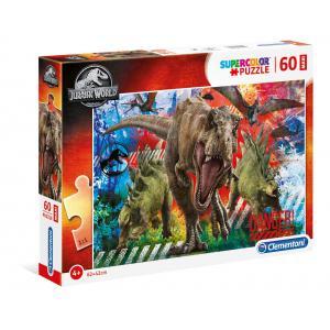 Clementoni - 26456 - Puzzle enfants 60 Pièces Maxi - Jurassic World (427292)