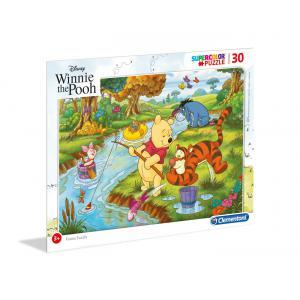 Clementoni - 22704 - Puzzle Cadre 30 pièces - Winnie l'Ourson (427346)