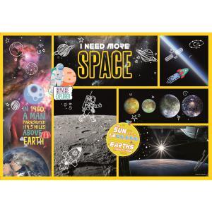 Clementoni - 29206 - Puzzle enfants National Geographic Kids 180 pièces - Espace (427366)