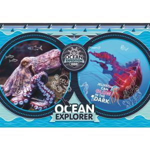 Clementoni - 29205 - Puzzle enfants National Geographic Kids 180 pièces - Océan (427368)
