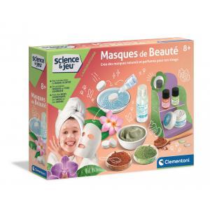 Clementoni - 52439 - Jeux scientifique - Masques de beauté (427678)