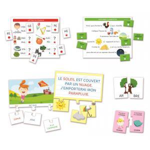 Clementoni - 52465 - Jeux éducatifs petit savant - Mon coffret de lecture (427724)