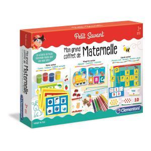 Clementoni - 52474 - Jeux éducatifs petit savant - Mon grand coffret de maternelle (427732)