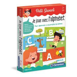 Clementoni - 52467 - Jeux éducatifs petit savant - Je joue avec l'alphabet (427738)