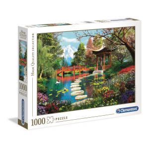 Clementoni - 39513 - Puzzle adultes 1000 Pièces - Fuji garden (427834)