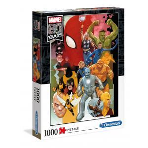 Clementoni - 39534 - Puzzle adultes 1000 Pièces - Marvel 80 (427844)