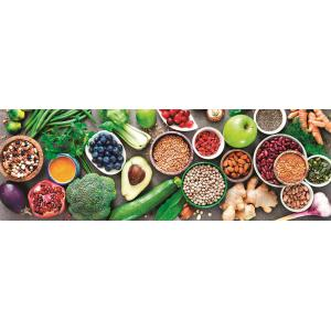 Clementoni - 39518 - Puzzle Panorama 1000 pièces - Healthy Veggie (427848)