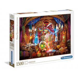 Clementoni - 31813 - Puzzle adultes 1500 Pièces - Wizards workshop (427852)