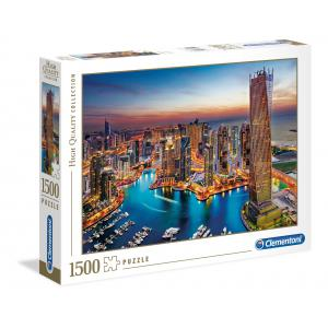Clementoni - 31814 - Puzzle adultes 1500 Pièces - Dubai Marina (427854)